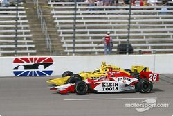 Dan Wheldon and Tomas Scheckter