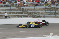 Vitor Meira and Scott Dixon