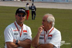 Gil de Ferran and Roger Penske