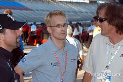 Michael Andretti, Kenny Brack and Arie Luyendyk