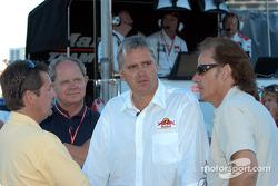 Scott Goodyear, Eddie Cheever and Arie Luyendyk