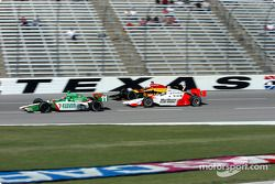 Tony Kanaan, Bryan Herta et Sam Hornish Jr.