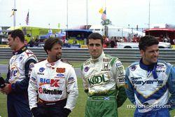 Max Papis, Michael Andretti, Dario Franchitti, Patrick Carpentier