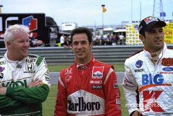 Paul Tracy, Helio Castroneves, Christian Fittipaldi