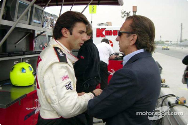 Christian Fittipaldi e Emerson Fittipaldi