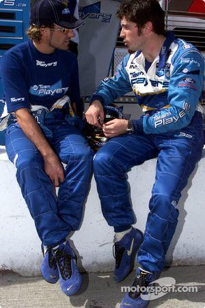 Alex Tagliani et Patrick Carpentier
