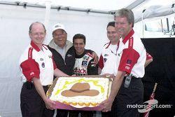 Brooks Racing fête la formation de l'équipe