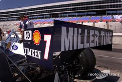 CART raised the height of the wicker on the rear wing in an attempt to reduce speeds and g-loads at Texas