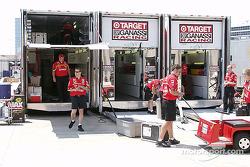 Target Chip Ganassi Racing packing up