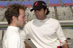 Cristiano da Matta et Christian Fittipaldi