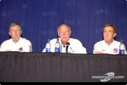 CART CEO Joe Heitzler with CART Medical Director Steve Olvey