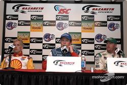 Conférence de presse : Kenny Brack, Scott Dixon et Paul Tracy