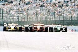 La départ du Grand Prix de Lehigh Valley
