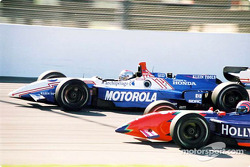 Michael Andretti et Tony Kanaan face à face