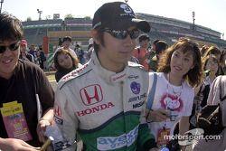 Shinji Nakano, always popular in Japan