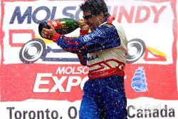 Champagne for Michael Andretti