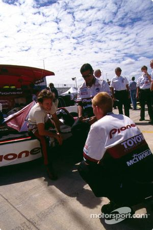 Cristiano da Matta, PPI Motorsports, Reynard-Toyota