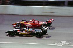 Michael Andretti, Newman/Haas Racing, Lola-Ford, Juan Pablo Montoya, Chip Ganassi Racing, Lola-Toyota