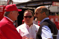 Tom Anderson, Chip Ganassi, y Bobby Rahal