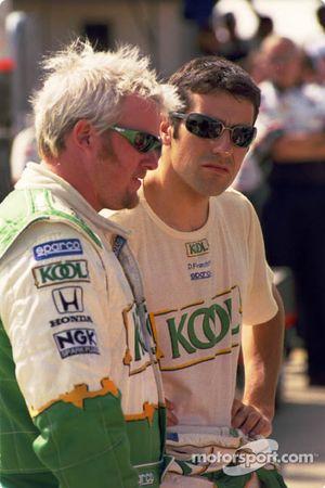 Paul Tracy, Team Green, Dario Franchitti, Team Green