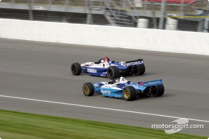 Patrick Carpentier and Michael Andretti