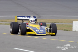 Historic Champ cars showcase: Eagle Turbo Offy on pitlane