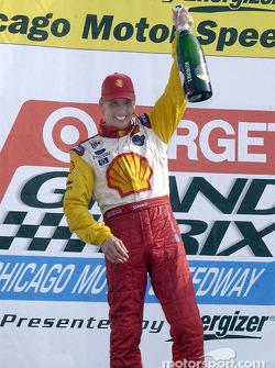 Race winner Kenny Brack
