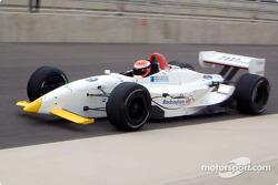 Johnny Herbert teste une voiture du Dale Coyne Racing