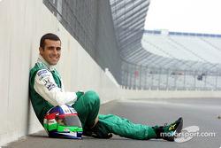 Dario Franchitti au Rockingham Motor Speedway