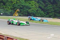 Alex Tagliani going off the track