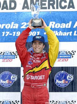 Race winner Bruno Junqueira
