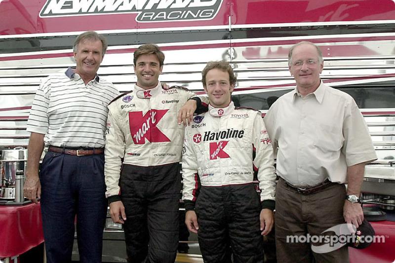 Pais e filhos: Wilson Fittipaldi, Christian Fittipaldi, Cristiano da Matta e Antônio da Matta