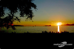 Coucher de soleil sur English Bay