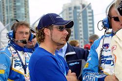 Alex Tagliani on the grid