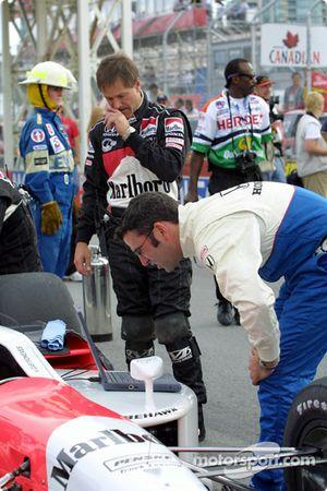 Team Penske se prépare pour la course
