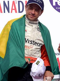 Race winner Roberto Moreno