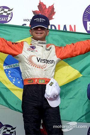 Roberto Moreno, vainqueur de la course