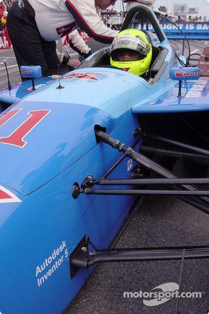 Christian Fittipaldi sur la grille