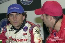 Alex Zanardi and Tony Kanaan