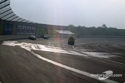 Drying the track
