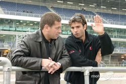 Mauricio Gugelmin and Christian Fittipaldi