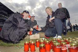 Bougies pour la tragédie américaine