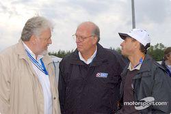 Discussion avec Joe Heitzler et Roberto Moreno