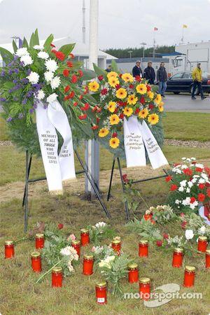 En mémoire de tous ceux qui ont perdu la vie