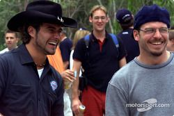 Alex Tagliani and Patrick Carpentier took a 1-week vacation in Australia race; the Canadian drivers toured the Australian outback and the Great Barrier reef before heading to Surfers Paradise