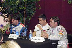 Conférence de presse : Michael Andretti, Gil de Ferran et Jimmy Vasser