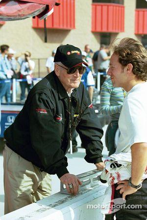 Paul Newman et Cristiano da Matta
