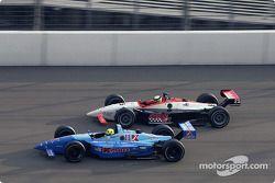 Christian Fittipaldi et Alex Barron