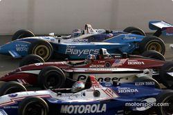 Michael Andretti, Casey Mears et Alex Tagliani