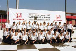 Honda : Champion des constructeurs 2001